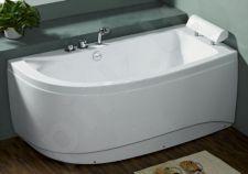 Akrilinė vonia B1680 dešininė be masažų (simple) 150cm