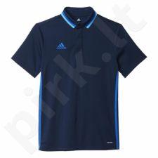 Marškinėliai futbolui polo Adidas Condivo 16 Junior AB3133