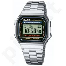 Casio Retro Collection A168WA-1YES vyriškas laikrodis-chronometras