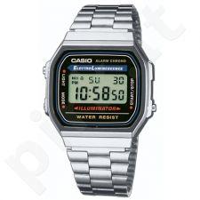 Casio Retro Collection A168WA-1YES vyriškas laikrodis-chronometras