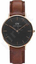 Laikrodis DANIEL WELLINGTON CLASSIC BLACK ST MAWES DW00100130