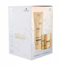 Schwarzkopf Taming, BC Bonacure Excellium, rinkinys šampūnas moterims, (šampūnas 200 ml + plaukų kaukė 150 ml)