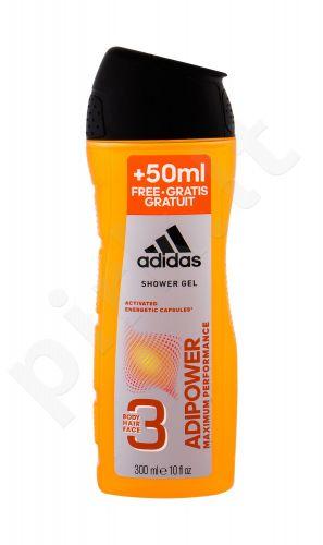 Adidas AdiPower, dušo želė vyrams, 300ml