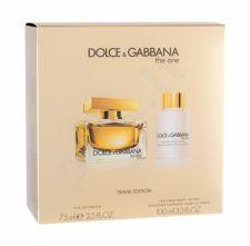 Dolce&Gabbana The One, rinkinys kvapusis vanduo moterims, (EDP 75 ml + kūno losjonas 100 ml)