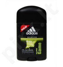 Adidas Pure Game, 53ml, pieštukinis dezodorantas vyrams