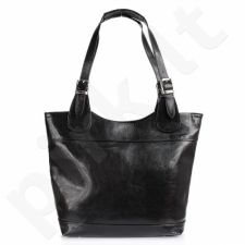 DAN-A T195A juoda rankinė iš natūralios odos