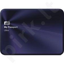 Išorinis diskas WD My Passport Ultra Metal 2.5'' 2TB USB3, Tamsiai mėlynas
