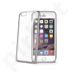 Apple iPhone 6S PLUS dėklas LASER Celly sidabrinis