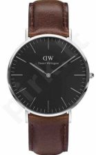Laikrodis DANIEL WELLINGTON CLASSIC BLACK BRISTOL DW00100131