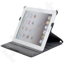 Planšetės dėklas Qoltec Apple iPad3, Džinsai, Juodas