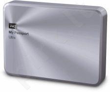 Išorinis diskas WD My Passport Ultra Metal 2.5'' 2TB USB3 Sidabrinis