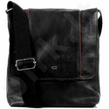 DAAG Jazzy Active 276 rankinė odinė  unisex juoda