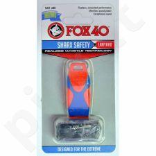 Švilpukas FOX40 Sharx Safety + virvutė 8703-2108