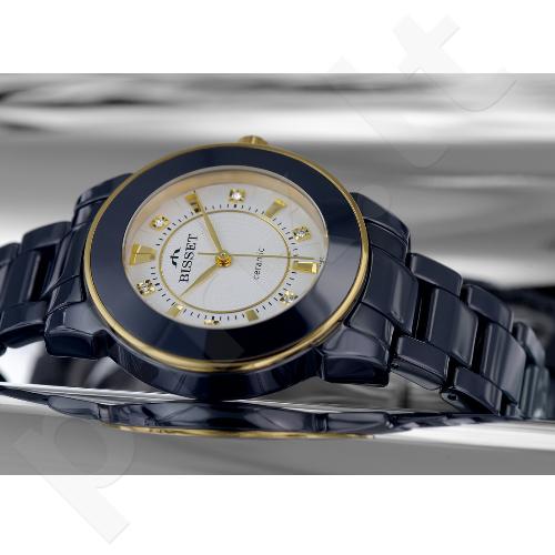 Moteriškas laikrodis BISSET Dark Side BSPD69GISX03BX