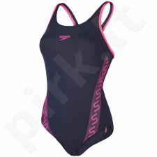 Maudymosi kostiumėlis Speedo Monogram Muscleback AF W 8-08733A584