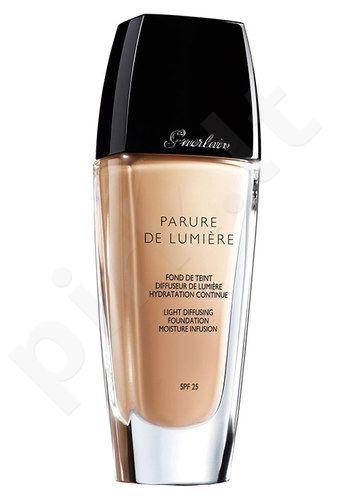 Guerlain Parure De Lumiere kreminė pudra SPF25, kosmetika moterims, 15ml, (testeris), (05 Beige Foncé)