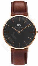Laikrodis DANIEL WELLINGTON CLASSIC BLACK ST MAWES DW00100124