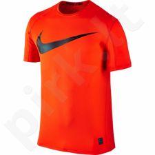 Marškinėliai treniruotėms Nike Pro Swoosh Short Sleeve Top M 828541-852