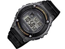 Casio Collection W-216H-1BVEF vyriškas laikrodis-chronometras