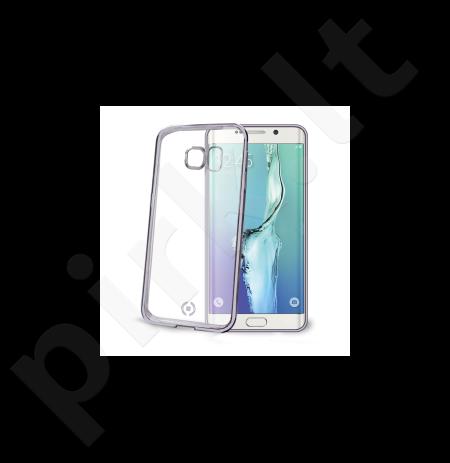 Samsung S6 EDGE PLUS dėklas LASER Celly sidabrinis