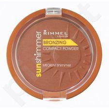 Rimmel London Sun Shimmer, bronzantas moterims, 11g, (Medium Matte)
