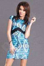 AYANAPA suknelė -  BODYCON STYLE - mėlyno atspalvio 6106-1