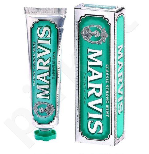 Marvis dantų pasta Classic Strong Mint, kosmetika moterims ir vyrams, 75ml