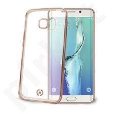 Samsung S6 EDGE PLUS dėklas LASER Celly auksinis