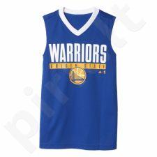 Marškinėliai krepšiniui dvipusė  Adidas Winter Hoops Golden State Warriors Junior AX7802