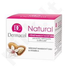 Dermacol Natural Almond, Night Skin kremas moterims, 50ml