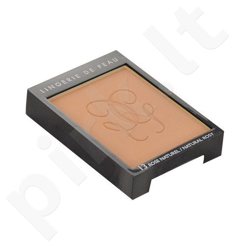 Guerlain Lingerie De Peau Nude kompaktinė pudra, kosmetika moterims, 10g, (testeris), (05 Dark Beige)