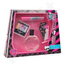 Monster High Monster High rinkinys vaikams, (EDT 50 ml + akių šešėliai 3,4 g + lūpdažis 2,5 ml + auskarai lipdukai)