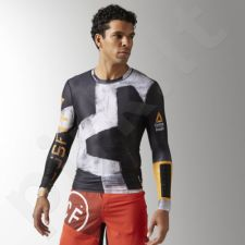 Marškinėliai kompresiniai Reebok CrossFit Engineered Long Sleeve M B45167