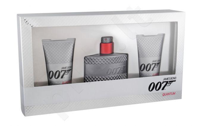 James Bond 007 Quantum, rinkinys tualetinis vanduo vyrams, (EDT 50 ml + dušo želė 2 x 50 ml)