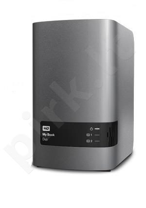 External HDD WD My Book Duo, 3.5'', 8TB, USB 3.0, black