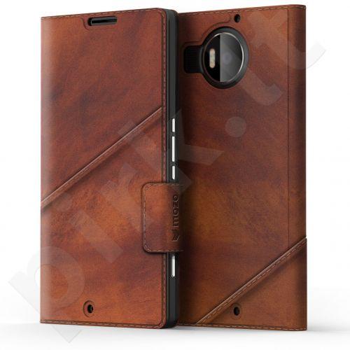 Microsoft 950 XL Lumia Flip dėklas by Mozo rudas