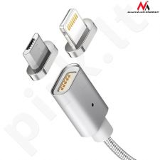 Maclean MCE162 MICRO USB magnetic connector for magnetic cable
