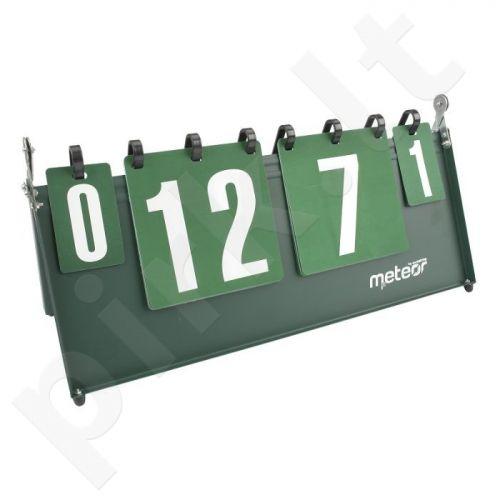 Stalo teniso rezultatų skaičiuoklė Meteor