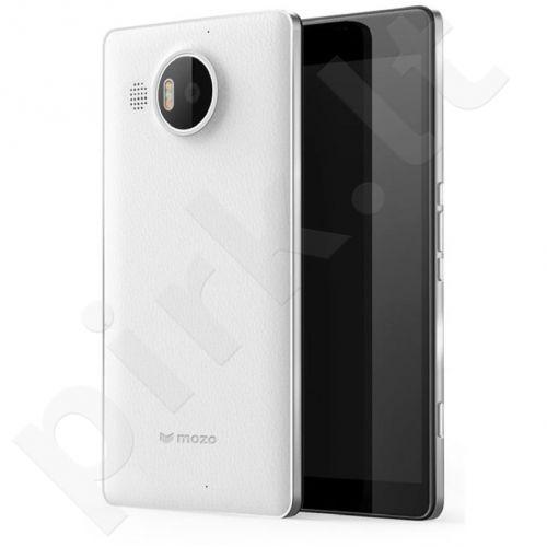 Microsoft 950 XL Lumia Odinė nugarėlė by Mozo baltas