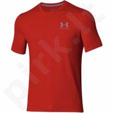 Marškinėliai treniruotėms Under Armour Sportstyle Left Chest Logo M 1257616-600