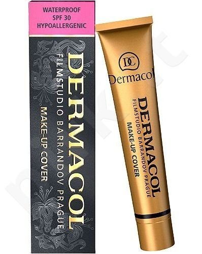 Makiažo pagrindas Dermacol Make-Up Cover (Shade 224), 30ml