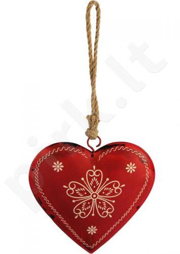 Pakabinama dekoro detalė Širdis 81849