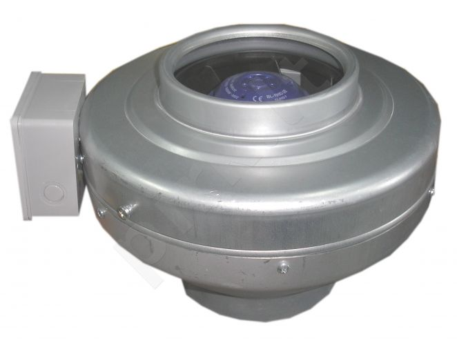 Ventiliatorius ašinis kanalinis d150 VKMZ150