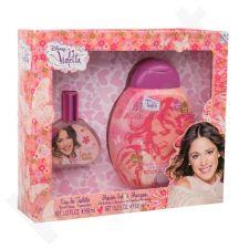 Disney Violetta rinkinys vaikams, (EDT 30 ml + 2v1 dušo želė & šampūnas 300 ml)