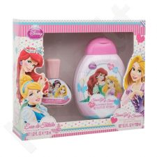 Disney Princess Princess rinkinys vaikams, (EDT 30 ml + 2v1 dušo želė & šampūnas 300 ml)