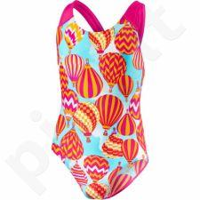 Maudymosi kostiumėlis Speedo Colour Pops Allover Splashback Junior 8-07386B489