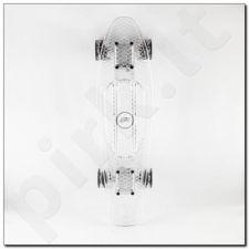 Riedlentė Pennyboard Nils Extreme Led Transparent