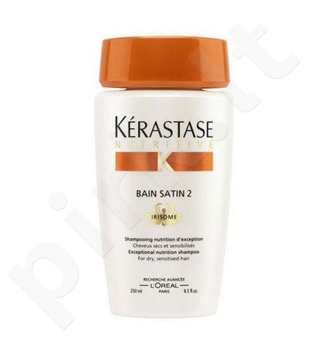 Kerastase Nutritive Bain Satin 2 Irisome Dry Sensitised Hair, kosmetika moterims, 250ml