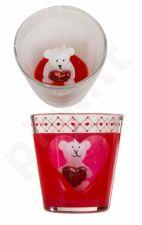 """Žvakė stiklinėje """"Meškiukas"""""""
