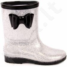 Guminiai batai sidabriniai